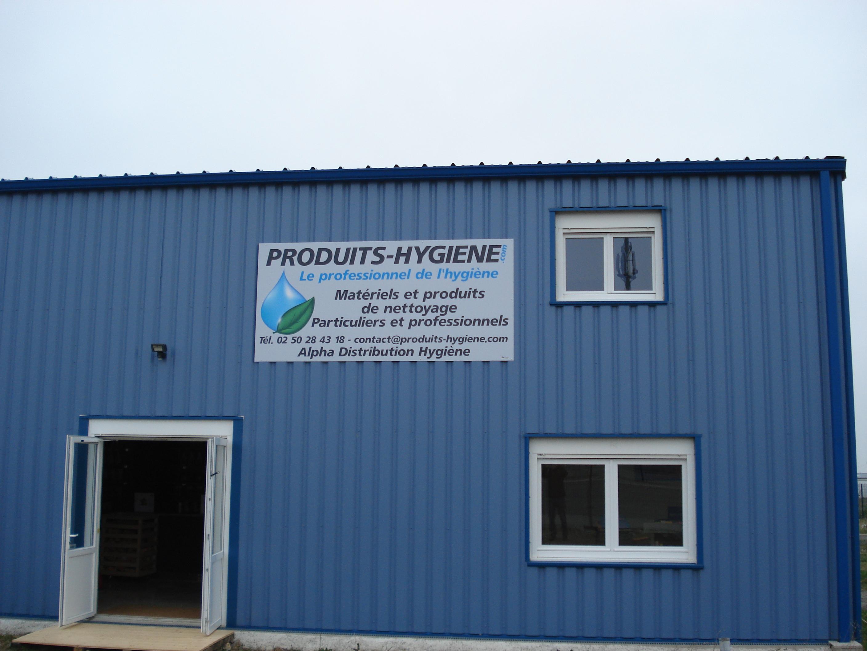 Boutique Alpha Distribution Hygiene exterieur