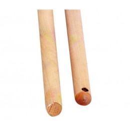 Manche à balai bois sans vis