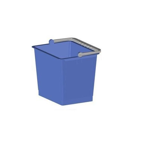 Seau bleu 6L