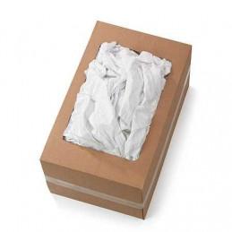 Chiffon drap blanc