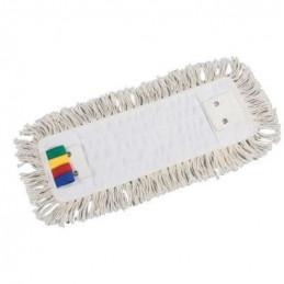 Frange coton ECO poches et languettes 2 oeillets 40cm