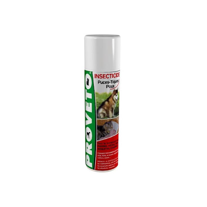 Insecticide puces, tiques et poux
