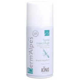 Spray insectifuge KING