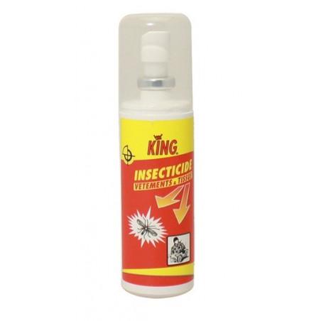 Insecticide vêtements et tissus KING