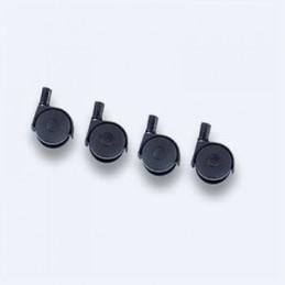 Roulettes pour seau vitrier