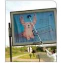 Manche télescopique Alu 3 mètres