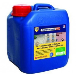 Hydrofuge anti taches anti graffiti PROTECGUARD PRO GUARD INDUSTRIE