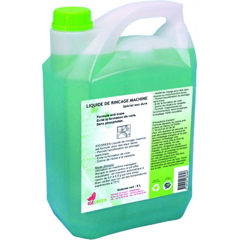 Liquide rinçage machine ID30 ECOLOGIQUE