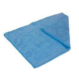 Serpillière microfibre bleue 50x70cm
