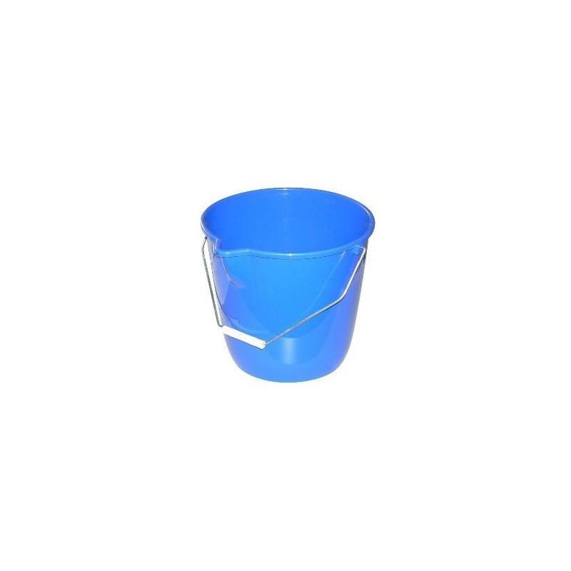 Seau rond bleu 10L