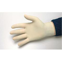 Gant latex poudré blanc