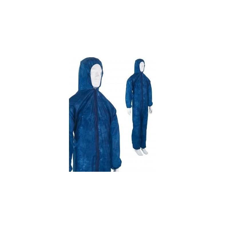 Combinaison jetable bleue