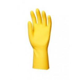 Gant de ménage latex jaune