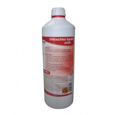 Déboucheur Liquide Acide ORLAV