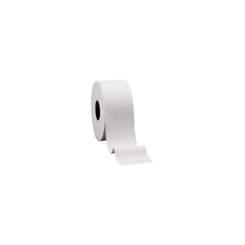 Papier toilette Jumbo ouate blanc pur