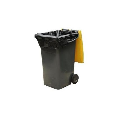 Housse conteneur 120 L Noir