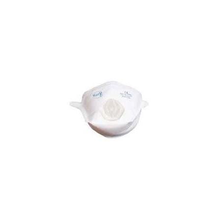 Masque pliable avec valve FFP2