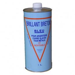 Brillant Breton bleu Nettoyant argenterie 1L
