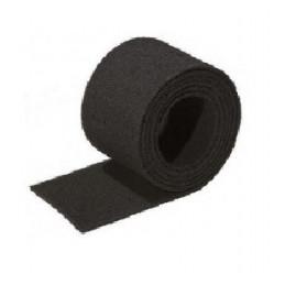 Rouleau abrasif tampon noir