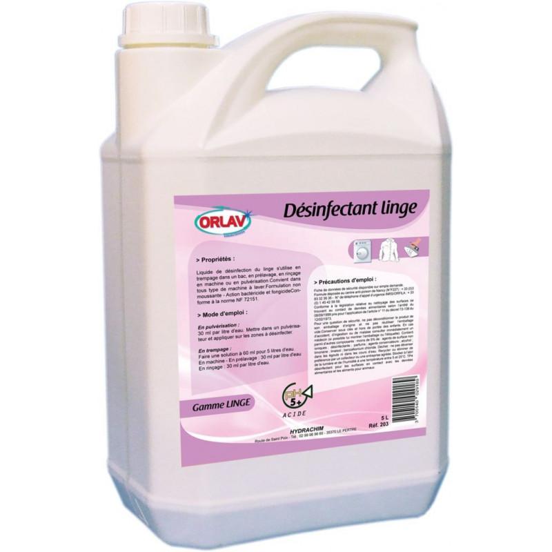 Lessive Liquide Désinfectant linge ORLAV