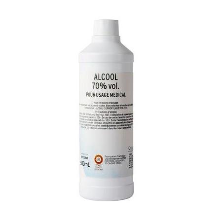 Alcool Isopropylique 70% vol 500ml