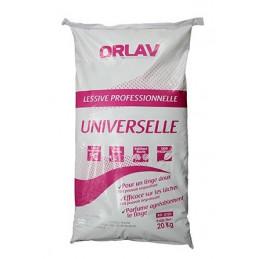 Lessive Universelle en poudre parfum fraîcheur fleurie ORLAV 20Kg