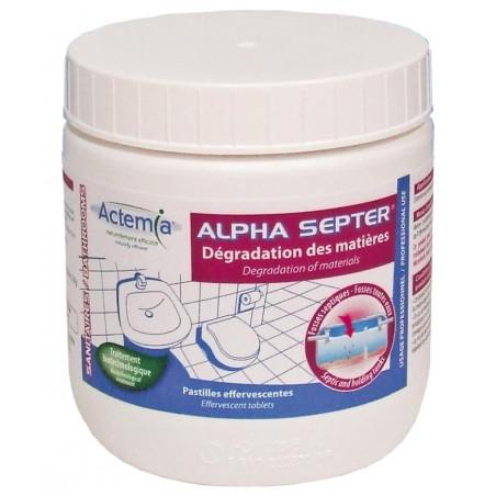 Entretien Ensemencement Fosses Septiques Alpha Septer 240gr