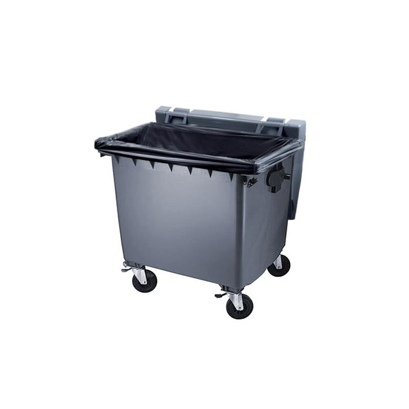 Housse conteneur 750L Noir