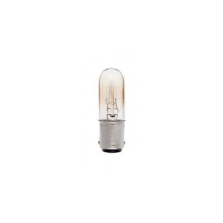 Lampe tube pour réfrigérateur incandescente BA15D