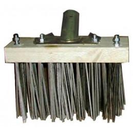 Balai métal pour brossage des mousses