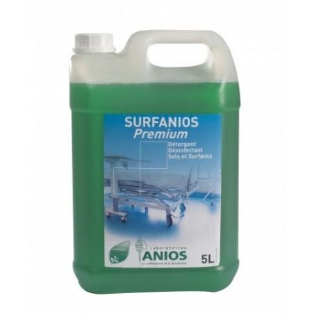 Surfanios Premium Nettoyage et désinfection des sols et surfaces 5L ANIOS