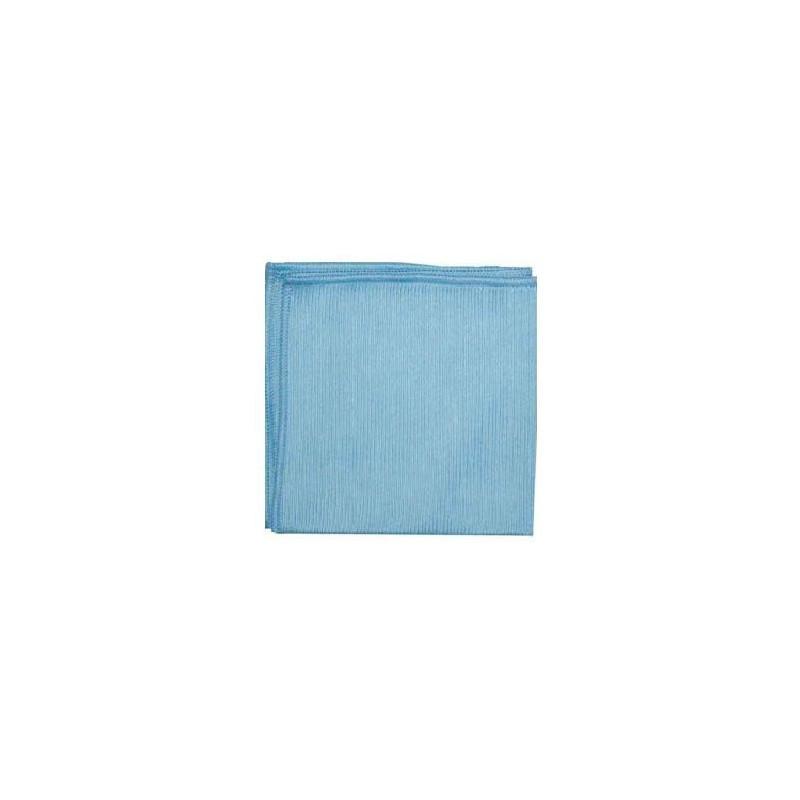 Lavette Microfibre suédée bleue