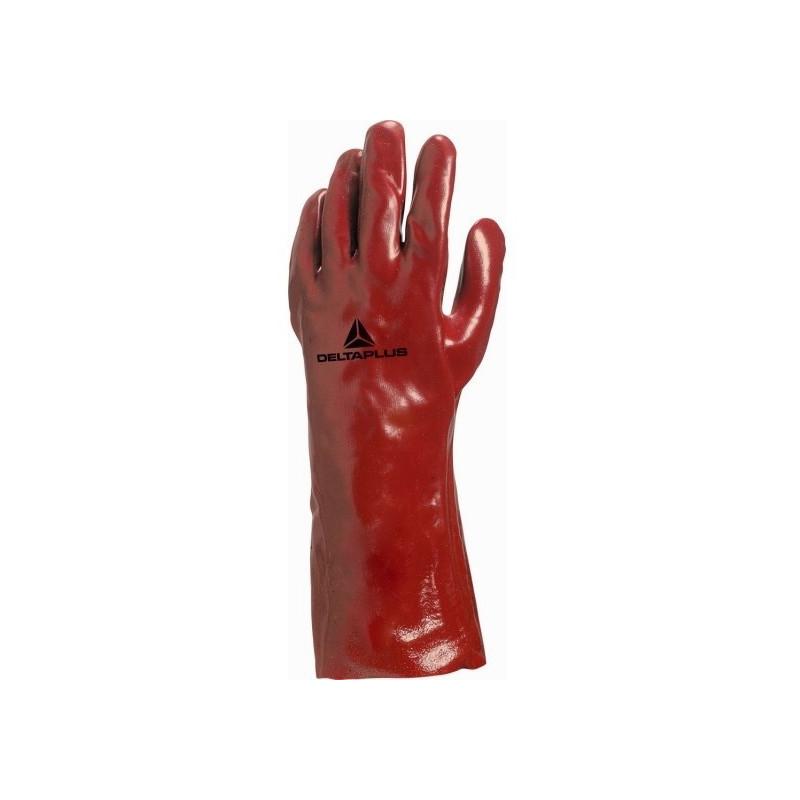 Gant PVC rouge DELTA PLUS