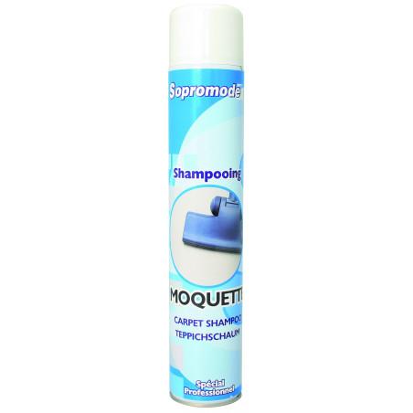Shampoing moquette en bombe aérosol SOPROMODE