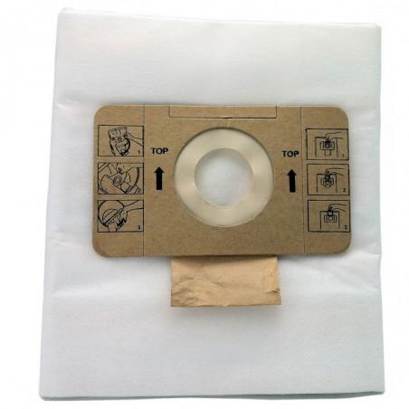 Sac aspirateur microfibre 20L pour aspirateur NRG 1/20 ICA Lot de 10