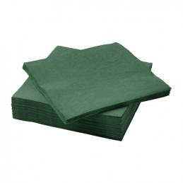 Serviette de table en papier en couleur 40x40