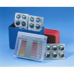 Réactifs pour photomètre Pilules DPD 1 noires BAYROL Boite de 250