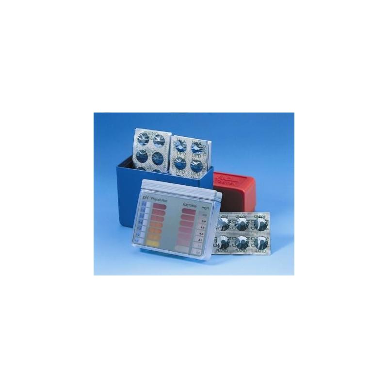 Pilules Phénol Red (Ph) noires BAYROL