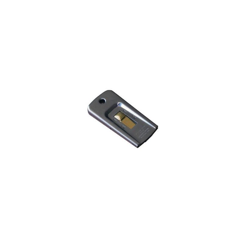 Grattoir métal de poche 4 cm PULEX