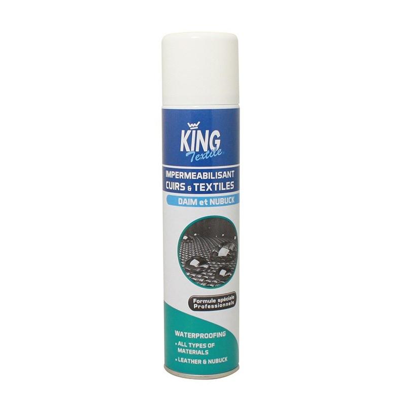 Imperméabilisant cuir et textiles KING 400 ml