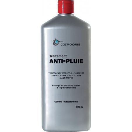 Traitement Anti-pluie surfaces vitrées et polycarbonate 500ml COSMOCARE