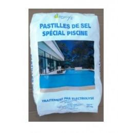 Pastilles de Sel pour Piscine Sac de 25Kg Sel épuré Type A