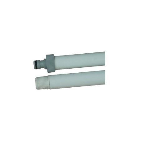 Manche fibre de verre passage d'eau 1m40 D25 mm TC° 135