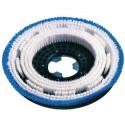 Brosse de lavage souple bleue pour monobrosse