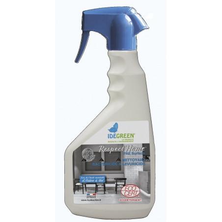 Détergent bactéricide et lévuricide RESPECT'Home Surface Ecocert 750ml