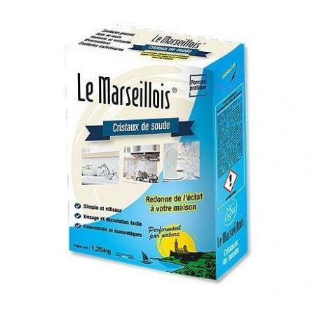 Cristaux de soude 1,25Kg LE MARSEILLOIS