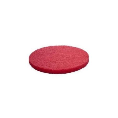 Disque pad rouge D165mm 6'' pour mini monobrosse