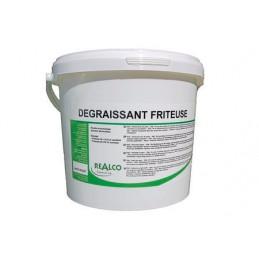 Dégraissant friteuse enzymatique en sachés seau de 2,1Kg REALCO