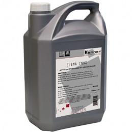 Elema Inox Nettoyage lustrage et brillance Inox lisses ou striés KEMNET 5L