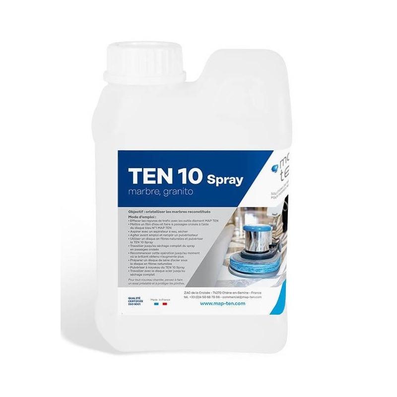 Liquide de cristallisation marbre TEN 10 1L